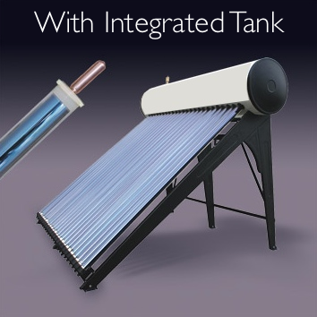 Integrated Solar Water HeatingTank