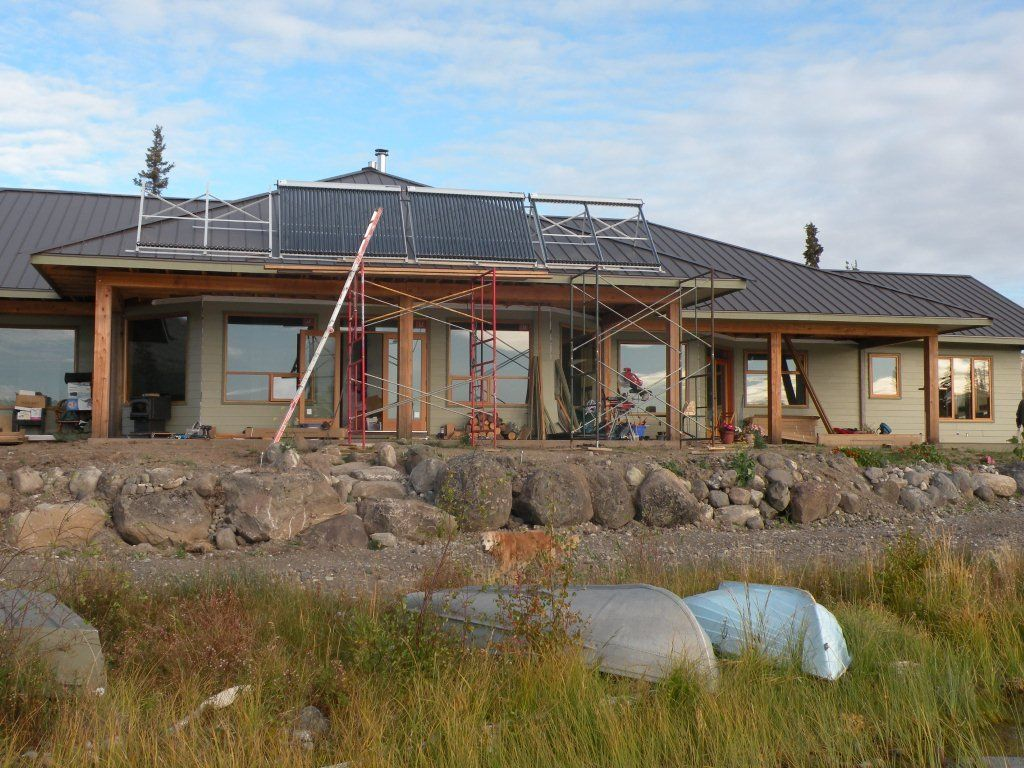 Big Bar Lake - BC Solar Hot Water System