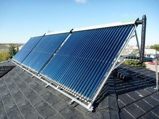 CSA Approved solar collectors