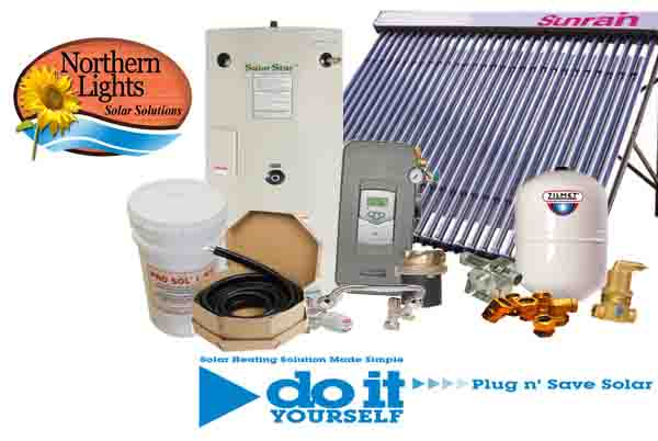 SWH-5 Solar Hot Water Heating Package - DIY Solar Kits
