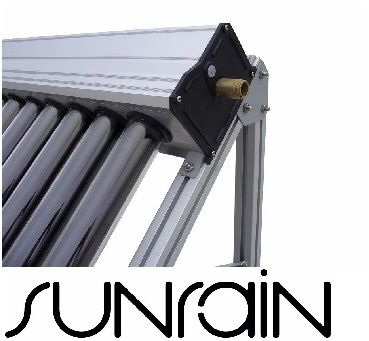 20 Tubes - solar water heating collector