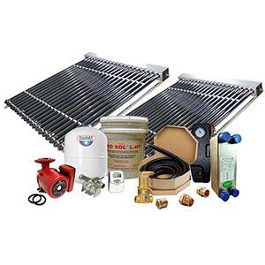 Solar Hot Water Retrofit Kit - 2 Collector