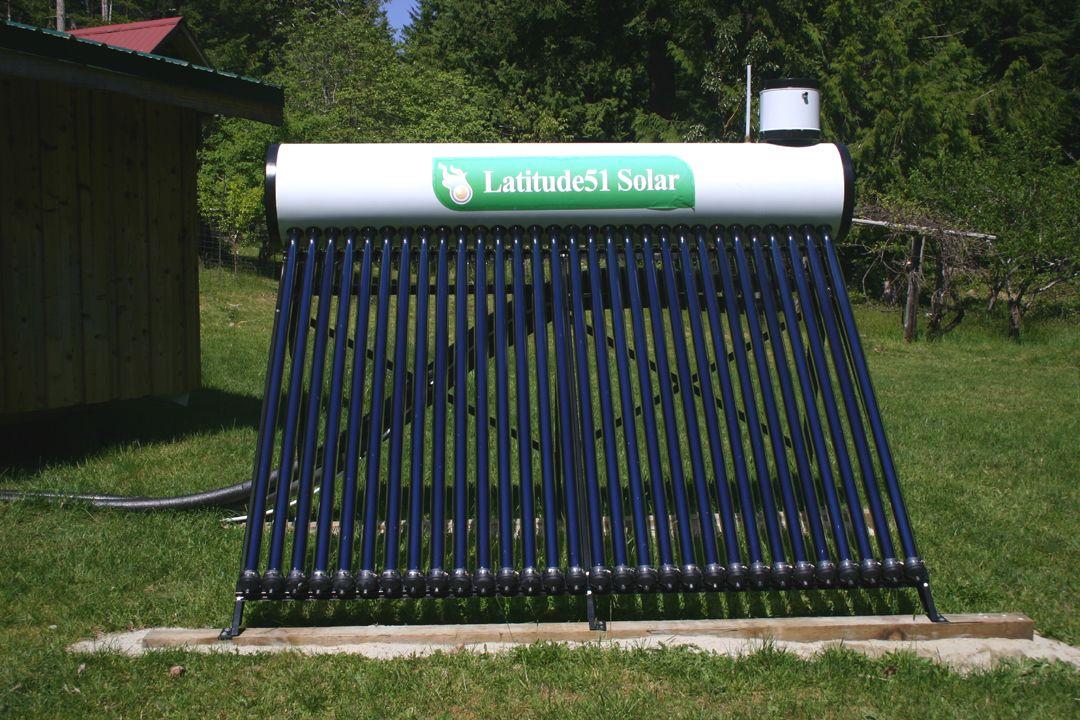Jack W - Cortes Island, BC, Offgrid Solar Set up